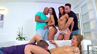 Amazing Leggy Whore Alexis Crystal Wanna Take Part In Kinky Orgy