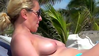 Incredible French Topless Mexico Beach Maroma