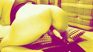 Trippy Lylith Shyne Getting Fucked By Machine