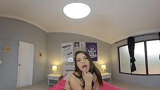 Abby Hilton POV Blowjob In VR