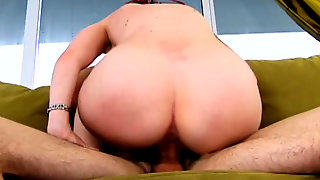Hot Redhead Milf Neesa Enjoys Young Dick