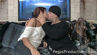 Naughty Girlfriend Bella Venusia Swallows A Dick Sitting On Dudes Face