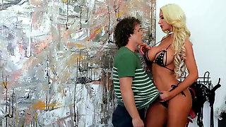 Dominatrix Nicolette Shea Sexual Deviancy With Her Slave