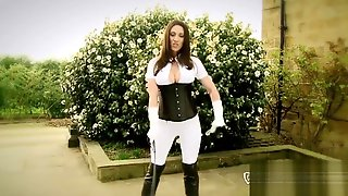 MissH - MissH Getting Her Boots Very Wet