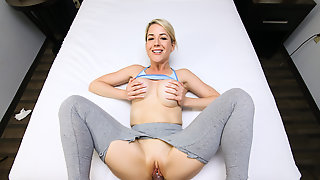 Kit Mercer Hot Yoga Sex Session With Stepson
