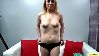 Attractive Blond Hair Lady Girl At Casting - Amateur Sex