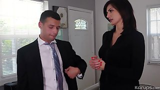 Becky Bandini - Fluffy-Breasted Cougar Made Love Har - High-definition