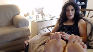 MATURE SOLES Exposed- One Shoe Custom Video