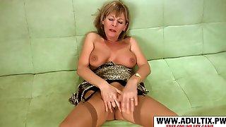 ... Chesty Fake Mother Elaine Take Prick Cool Tender Stepson - Elaine
