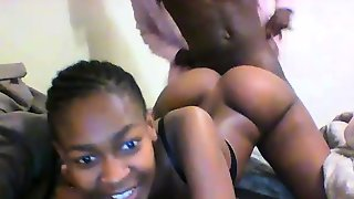 Black Gf With Big Booty Nailed Doggystyle On Amateur Vid