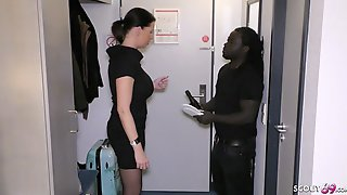 German Business Women Dacada Cheat Husband By Black Callboy