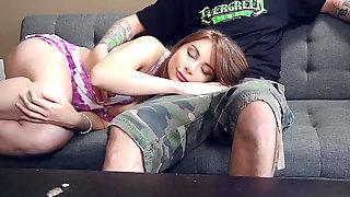 Sweet Kayla Paris Loves Pleasing Her Stepdaddy