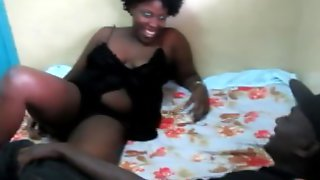 Real African Amateurs Fuck In Dirty Backroom