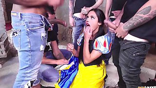 Apolonia Lapiedra And The 7 Dirty Fuckers - Young Spanish Hottie As Snowwhite