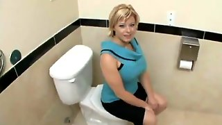 A Mother Id Like To Fuck Woman Having Sex In The Bathroom