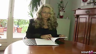 ROUGH ANAL SEX FOR GERMAN MATURE TEACHER AT PRIVAT TUTORING