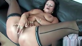 seems hot foot fetish cumshot on busty milfs legs opinion you commit