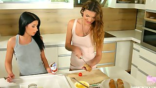 Sexy And Hot Like Fire Lesbian Verona Sky Loves Fingering Anus Of Her GF