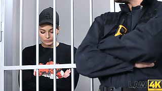 The Prisoner Is Fucked Right In The Cell