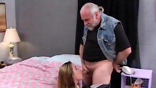 Old Guy Hogtied And Fucked A Young BBW
