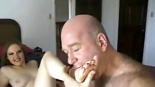 Ajx Old Man And Teen Blonde 32