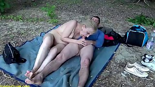 Outdoor Sex For 85 Years Old Mom