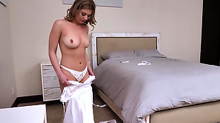 Serena Avery Having Sex With Her Bf While Dad Is At Home