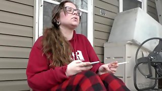 BBW Has A Relaxing Smoke And Ignores You-Full