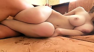 Bodacious Brunette Takes Every Inch Of Cock At Every Angle