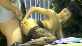 Latin Women Made Loved To Outside Then Jerks Off Dick In Her Mouth