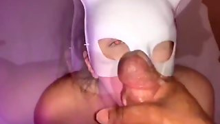 Mystery Masked Bunny Sloppy Blowjob  Teaser!