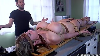 Dude Ass Fucking Fucks Tied Up Full-bosomed Mature