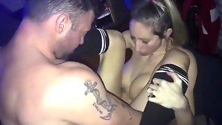 Cheating Wife Surprise XXX Spitroast - Deepthroat, Swallow, Anal, Creampie