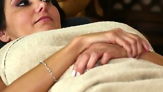 Groped MILF Babe Filmed During Massage