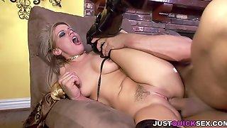 Blonde Milf Enjoying A Hot Anal Fuck