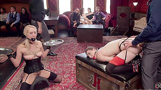 Casey Calvert And Other Chicks Got Punished By Naughty Dudes