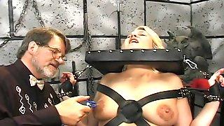 Blonde Mature Slut Loves BDSM Games