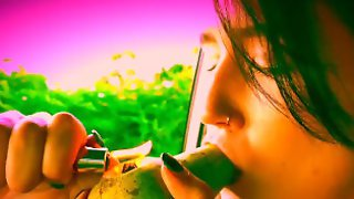 Smoking Through Various Fruits And Vegetables