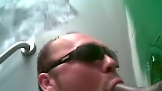 More Outdoor And Gloryhole Sucking With Facials