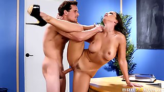 Juicy Brunette Needs To Be Punished For Ruining The Lesson