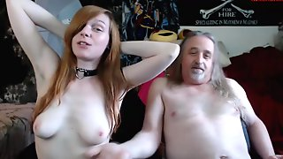 Old Man Fucks Teenager Little Emo Girl - 18yo Porn Clip