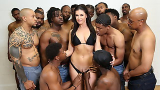 18 Black Men Gangbang India Summer