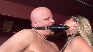 Blond Mistress Nicholette Enjoys Domin - 1080p