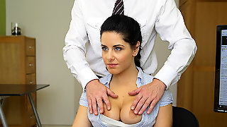 LOAN4K. Raunchy Is Out Of Money So Why She Takes Her...