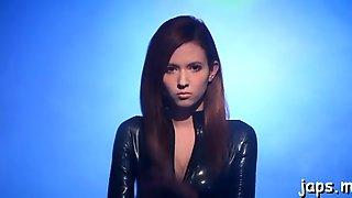 Busty Redhead Oriental Maiden Lola Misakis Hole Wants Sex