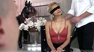 Veronica Leal Enjoys Double Penetration With Her Friends Before A Facial