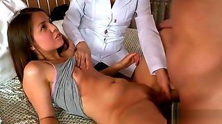 Doctor Looks Hymen Physical And Virgin Kitten Penetrating