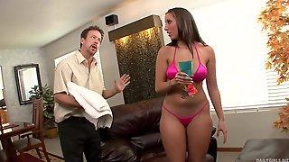 Kelly Divine - Big Butt Latina MILF Porn Video