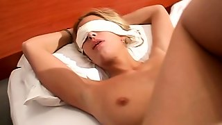 Kinky Blonde Mom Gets Tied Up And Fucked In The Ass In POV