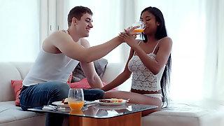 Nia Nacci Interracial Morning Sex